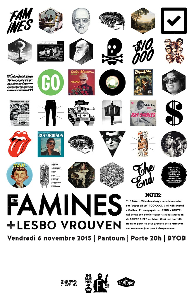 Lesbo Vrouven + The Famines
