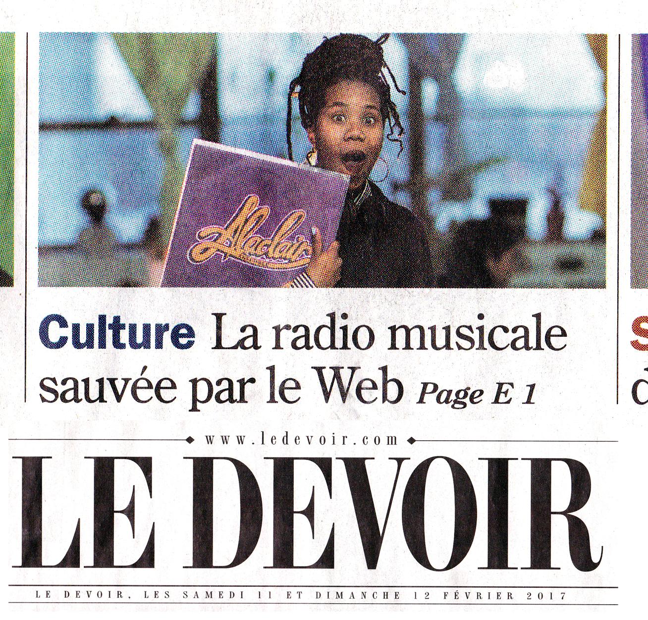 Alaclair 24,99 Devoir Web Radio